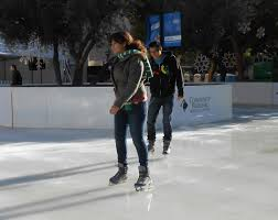 new ice rink brings people to downtown fresno valley public radio