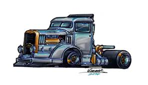 killer truck sketch 4 by vsdesign69 on deviantart