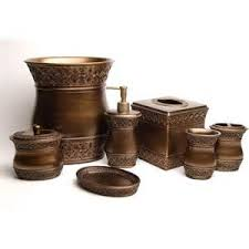 Rustic Bathroom Accessories Sets - rustic bathroom accessories sets rustic cross bath set 3 pcs