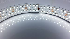 led ceiling strip lights 24v series triple row super bright smd 5050 led flexible light
