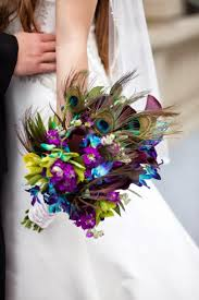 theme wedding bouquets best 25 peacock wedding flowers ideas on peacock
