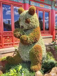 Garden Art International Disney U0027s Epcot International Flower And Garden Festival Food And