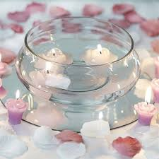 floating candle centerpiece ideas 7 decorating floating candle glass bowls decor efavormart