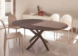 dining tables glamorous round dining table extends to oval round