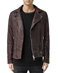 leather bike jackets for sale allsaints conroy leather biker jacket bloomingdale u0027s