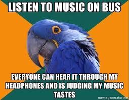 Parrot Meme - paranoid parrot meme generator