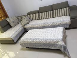 Sectional Sofa Slipcovers by Quilted And Lace Custom Sectional Sofa Couch Slipcovers Furniture