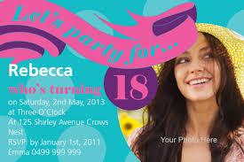Birthday Invitation Cards Free Download 18th Birthday Invitation Templates Free Download Birthday