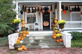 scary halloween porch decorations home design ideas