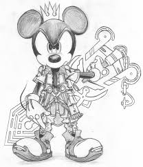king mickey fan by d aspiringameture b on deviantart