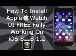 iwatch theme for iphone 6 how to install apple watch theme free on ios 8 8 1 2 for iphone 6