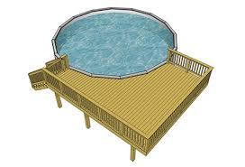 pool plans free pool deck plans decks free plans illionis home