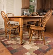 Dining Room Table Oak S Bent U0026 Bros Oak Farmhouse Style Dining Room Table And Chairs