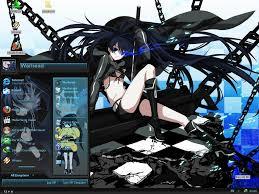 black themes windows 8 black rock shooter theme for win xp addon anime fans of moddb mod db
