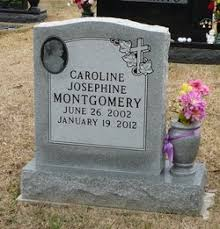 funeral plets caroline josephine montgomery 2002 2012 find a grave memorial