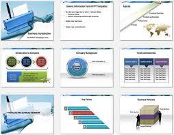 company introduction presentation template company profile ppt