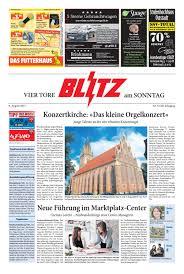 G Stige Sch E K Hen Vier Tore Blitz Vom 06 08 2017 By Blitzverlag Issuu