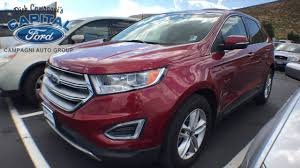 used certified 2015 ford edge sel carson city nv capital ford