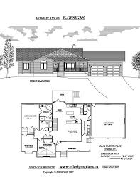 Bungalow Plans With Basement by Floor Plans For Houses Without Basements Home Design And Style