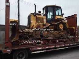 used cat d5m bulldozer with ripper shipped to australia