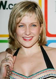back view of amy carlson hair amy carlson in entertainment weekly s must list party zimbio