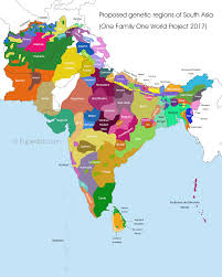 regional map of asia south asia regional dna project eupedia