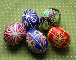 wax easter egg decorating happy easter traditional of decorating eggs in slovakia