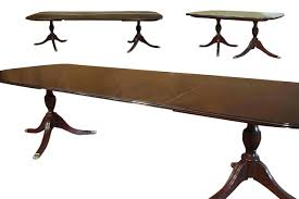 american made dining room furniture new american made solid mahogany dining table w 3 leaves