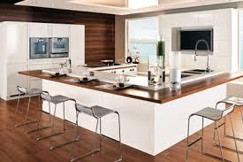cuisine avec ilot central pour manger modele de cuisine avec ilot central en image americaine newsindo co