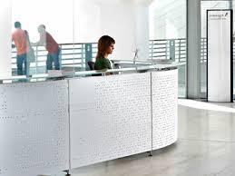 Metal Reception Desk Perforated Metal Furniture U2013 Table Bench Chair Desk Drawer Rack