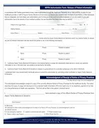 medical authorization form template business proposal download