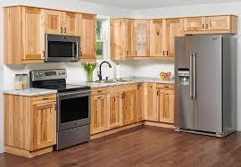 light wood kitchen cabinets trävik hickory klëarvūe cabinetry