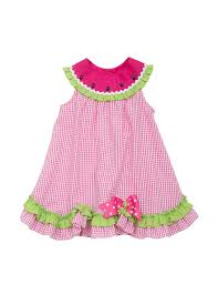 shop today for rare editions watermelon gingham print dress baby