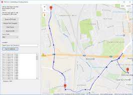 Driving Distance Google Maps Google Maps In Delphi With Tms Webgmaps Adding Custom Routes