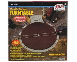 ho scale manual turntable by atlas model railroad atl305 toys