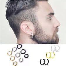 mens earrings mens gold earrings ebay