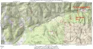 Opal Creek Oregon Map Spwendlingbranch