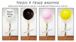balloon wholesale wedding tassel balloons singapore party wholesale centre