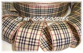 plaid ribbon school ribbon plaid ribbon back to school ribbon tartan ribbon