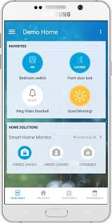 main features of the mobile app u2013 smartthings support