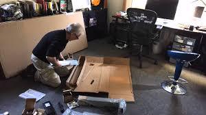 Jesper Sit Stand Desk by I Wanna New Sit Stand Desk Part 2 Assembling The Ergoprise Uprise