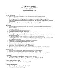 Sample Resume For Hr Assistant by Human Resources Resume Summary Sample Ecordura Com
