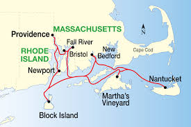 Map Of Massachusetts Coast by New England Islands Cruise American Cruise Lines Travel And