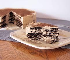mocha mascarpone icebox cake recept čokoládové dorty