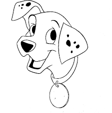 cute dalmatian coloring pages animal pages