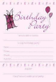 girls birthday party invitations choice image invitation design