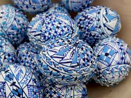 blue easter eggs blue easter eggs stock photo image of beginnings season 13161210