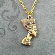 chain necklace woman images Vintage classic egyptian pharaoh head gold pendant necklace for jpg