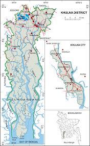 Map Of Bangladesh Khulna District Upazila Wise Mouza Maps U0026 Information