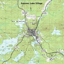 Malone Ny Map Ny Route 30 The Adirondack Trail Saranac Lake Village